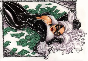 Marvel Comics Black Cat by Kapow2003
