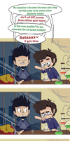 AsktheScienceBros - New Year Resolutions by ecokitty