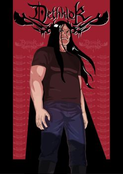 Dethklok poster by kebuenowilly