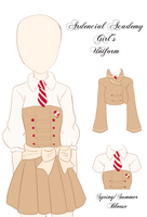 Ardencial Academy Girl's Uniform by vicfania8855