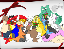 -A Big Merry Christmas- by Puffed-Up