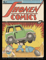 Shonen Comics by FortuneCake