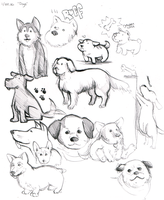 2.Dogs by matilda-caboose