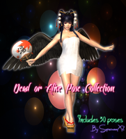 Dead or Alive Pose Collection by SupernovaX2