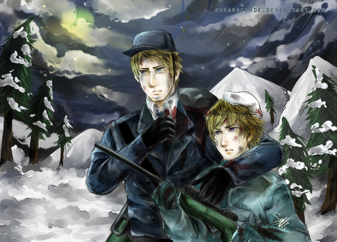 Hetalia Sweden-Finland - Keep Holding On Me by KuraraCinde