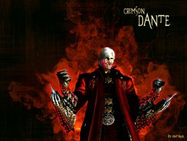 Crimson Dante by ATKNebula