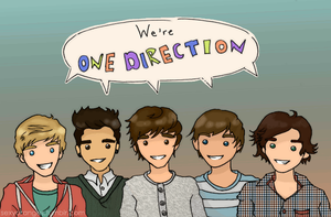 One Direction by ShineeOranges