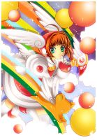 Sakura-Over the rainbow by Clamp-fanclub