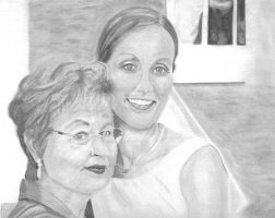 My Mother and Sister by MJP67