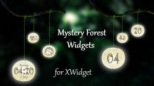 Mystery Forest Widgets for xwidget by jimking
