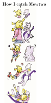 How I catch Mewtwo by Kell0x