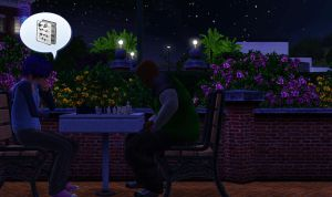 Sims 3 Gorillaz - Chess Mates by krazorspoon