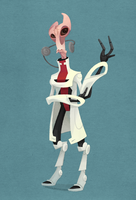 Mass Effect: Mordin Solus by WonderDookie