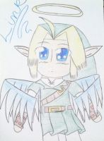 Chibi Link (OoT) by Mochi-and-2P-Rose