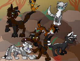 The Whole Gang by GRR2530