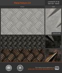 Metal Pattern 2.0 by Sed-rah-Stock