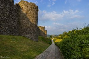 Conwy Town Walls 3 by CyclicalCore