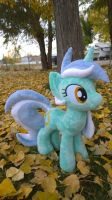Lyra plush (sold) by Zombies8MyWaffle