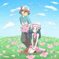 Pearl - Flower Field by Patori-san