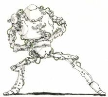 Dancing Robot by MattiasA