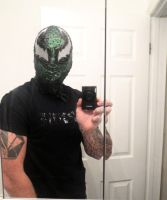 SYMBIOTE LASHER MASK by symbiote-x