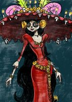Daily Sketches La Muerte by fedde