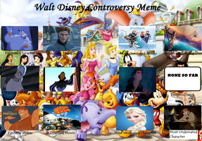 My Disney Controversy meme by greece4life