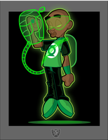 Young Green lantern by createink