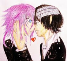 Love within Asymmetry by CrazyAnime3