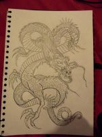 Japanese Dragon :3 by ChelseaMerritt1995