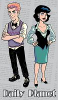 Lois and Jimmy by TeamSmithy