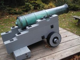 An Old Tarnished Cannon by specialoftheweek