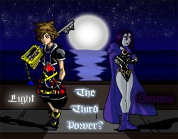 Sora and Raven by theRedDeath888