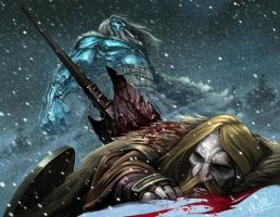 The Frost Giant's Hold by chriskuhlmann