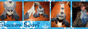 .:Glaceon Scarf:. by NightTwilightWolf