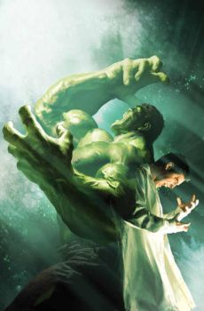 Bruce / Hulk alter-ego. by tapman73