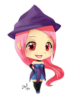 Chibi Witch by oPoof