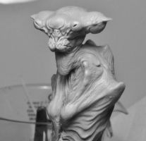 alien bust # 7889 by BOULARIS