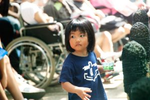 little Girl with Ice cream by tsugami