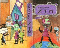 Invader Zim VHS cover by Chimaera-Stormhawk
