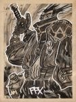 AURON of FFX by Andrew-Ross-MacLean