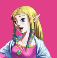 zelda skyward sword by ZaloHero