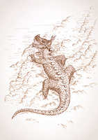 Climbing Dragon by mbah