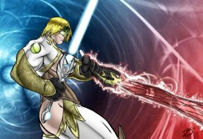 V'riel - Dual-Blade by SEAN-Z