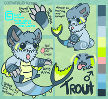 :Trout: by PrePAWSterous