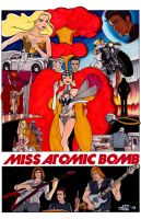The Killers Miss Atomic Bomb Video Concept Poster by jovigolf