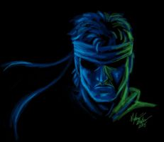 Solid Snake - Metal Gear Solid by SilverKitty000