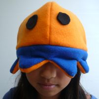 Squid Fleece Hat by kyra10987