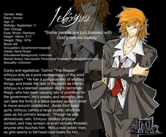 Character Profiles - Ichiryuu by Thats-Your-Funeral