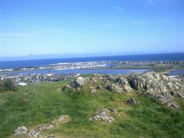 View from Pen Garn, Pwllheli by DavidEvz